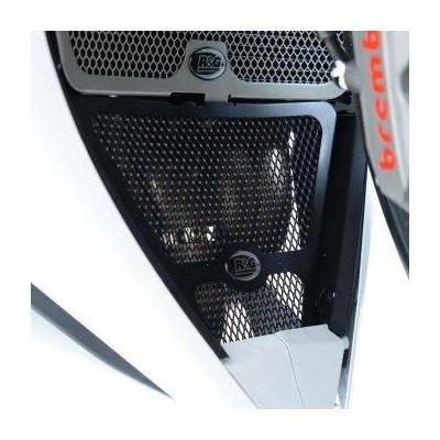 Grille de protection de collecteur R&G Racing noire Honda CBR 500 R 13-15