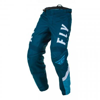 Pantalon cross enfant Fly Racing F-16 navy/bleu/blanc