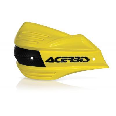 Plastiques de remplacement Acerbis pour protège-mains X-Factor jaune (paire)