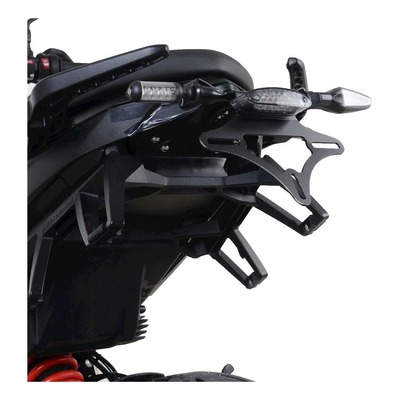 Support de plaque d'immatriculation R&G Racing noir BMW F 900 R/XR 20-21