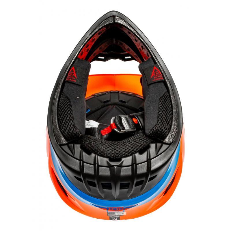 Casque cross Troy Lee Designs GP Silhouette orange/cyan - 5