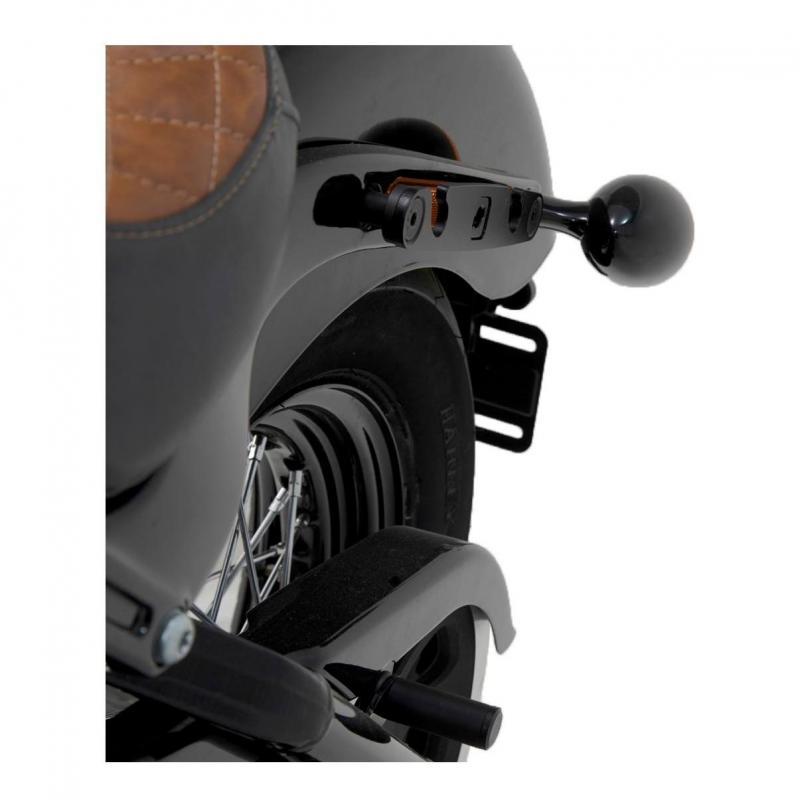 Support latéral SW-Motech SLH gauche Harley Davidson Softail Street Bob 1745 18-19