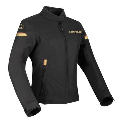 Blouson textile Bering Riva noir/or