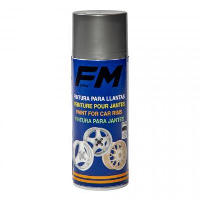Bombe de peinture jantes FM Spray argent 400ml