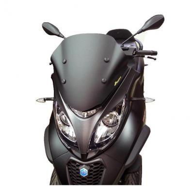 Bulle Bullster Sport 44,5 cm fumée noire Honda Piaggio MP3 500 18-19