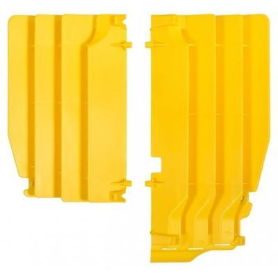 Caches de radiateur Polisport Suzuki 250 RM-Z 10-17 jaune