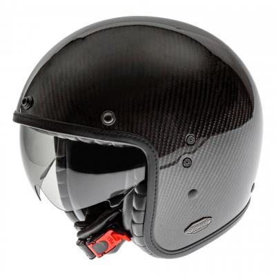 Casque jet Scorpion Belfast Carbon brillant