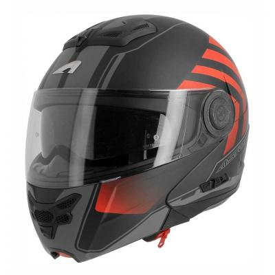 Casque modulable Astone RT800 exclusive CROSSROAD mat noir/rouge