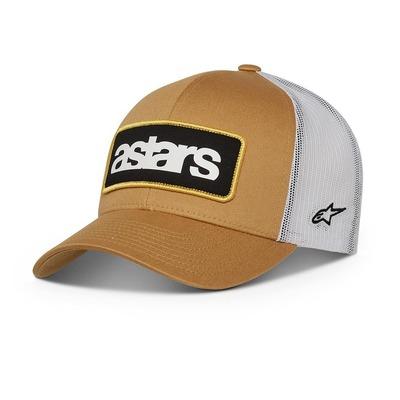Casquette Alpinestars Manifest Trucker moutarde/blanc