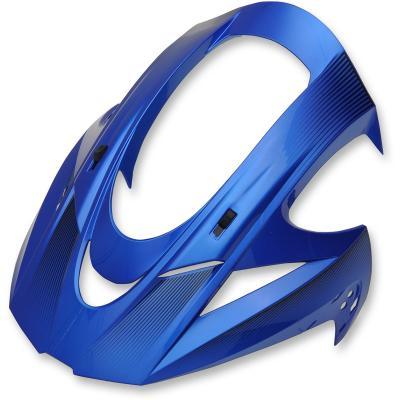 Casquette de casque Icon pour casque Variant Double Stack bleu
