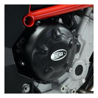 Couvre carter d'embrayage R&G Racing noir MV Agusta Turismo Veloce 800 15-18