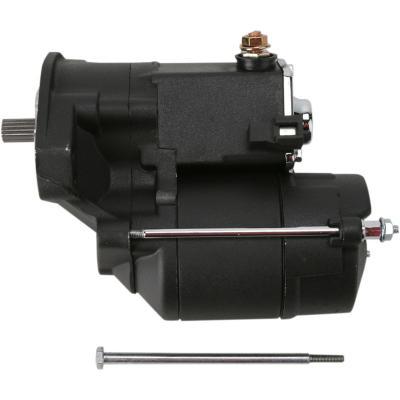 Démarreur électrique Drag Specialties Twin-Cam 99-06 haute performance 1,4 Kw noir