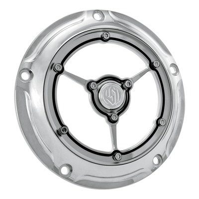Derby cover Roland Sands Design clarity Big Twin 99-18 chrome