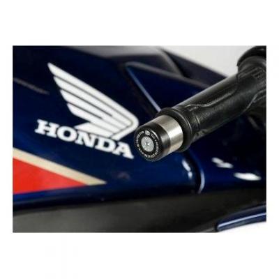 Embouts de guidon R&G Racing noir Honda VFR 1200 F 11-16
