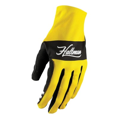 Gants Thor Hallman Mainstay jaune/checker