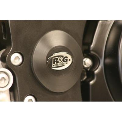 Insert de cadre inférieur droit R&G Racing noir Suzuki GSX-R 1000 07-16