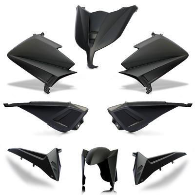 Kit carénage BCD sans poignées / sans rétro Tmax 530 15-16 noir mat