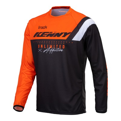 Maillot cross Kenny Track Focus orange fluo