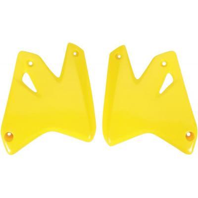 Ouïes de radiateur UFO Suzuki DR-Z 400E 00-05 jaune