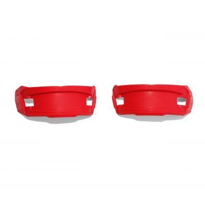 Pads caoutchouc Cycra pour plaque numéro frontale Stadium rouge