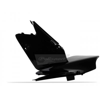 Plaques latérales Polisport Suzuki 250 RM 01-08 noir
