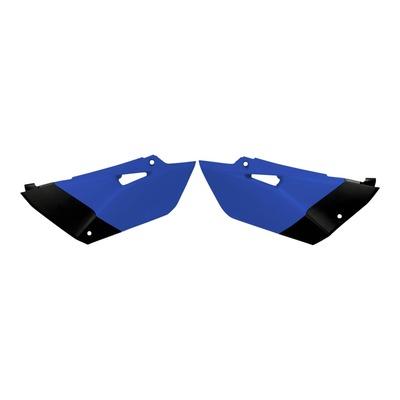 Plaques numéro latérales Acerbis Yamaha 85 YZ 15-21 bleu/noir