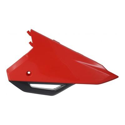 Plaques numéro latérales complète Acerbis Honda CRF 450R 2021 noir/rouge