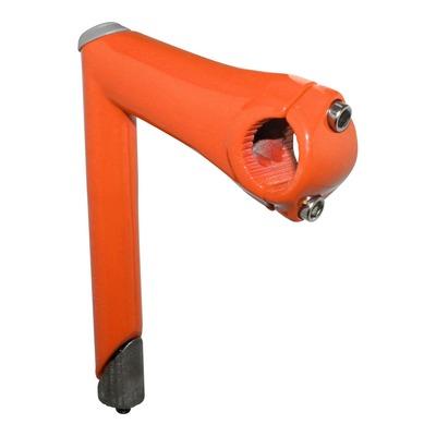 Potence route/Fixie Colors à plongeur 22,2mm L.100mm orange