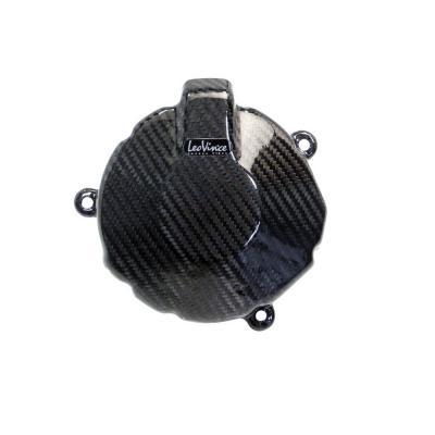 Protection de carter d'alternateur Leovince carbone ZX6R 2009-12