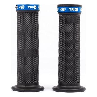 Revêtements S3 pour moto Trial Trifix full grip bleu