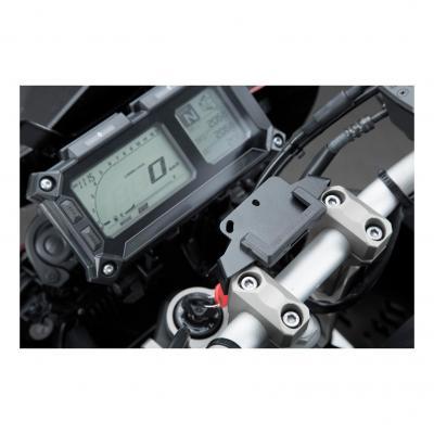 Support GPS SW-MOTECH QUICK-LOCK noir Yamaha MT-09 Tracer 14-