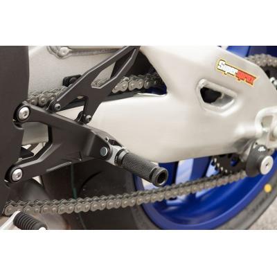 Supports de repose-pieds LSL arrière Yamaha YZF-R1 02-17