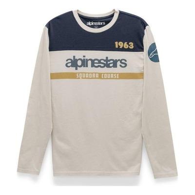 Tee-shirt manches longues Alpinestars Crossup premium natural