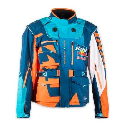 Veste enduro Kini Red Bull Competition orange/blanc/navy
