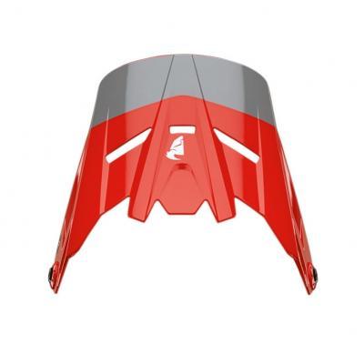 Visière de casque enfant Thor Sector Bomber Mips charcoal/rouge