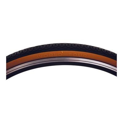 Pneu vélo City/VTC Michelin World Tour TR noir/beige (700 X 35C)