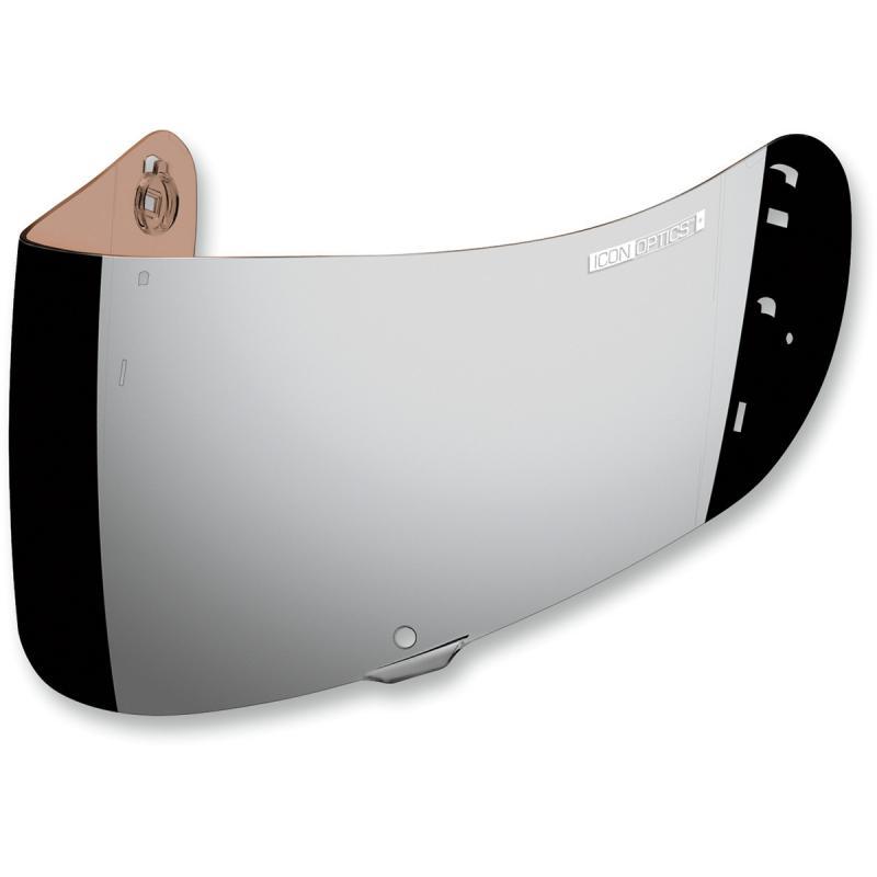 Écran Icon Optics iridium pour casque Airframe Pro/Airmada/Airform argent