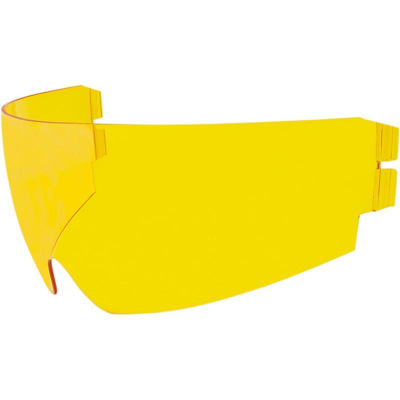 Écran rétractable Icon Dropshield pour casque Alliance GT/Airflite/Airform jaune