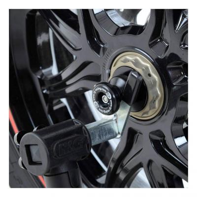 Tampons de bras oscillant diabolos R&G Racing noir MV Agusta Brutale 800 14-18