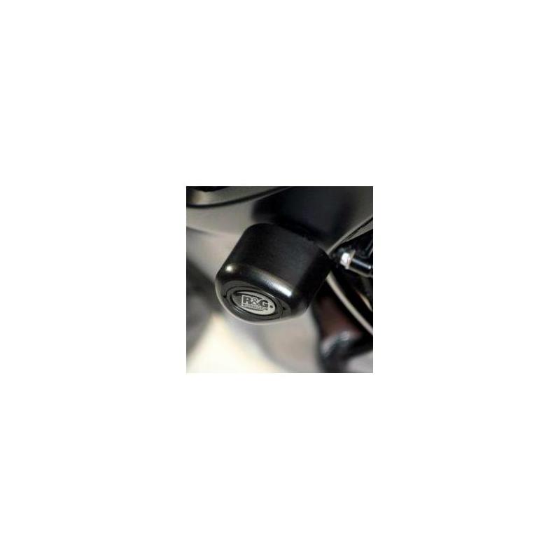 Tampons de protection R&G Racing Aero noir Suzuki GSX-R 600 06-10