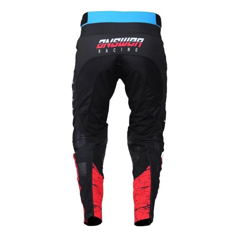 Pantalon cross Answer Trinity pro Glow Hyper bleu/rose/noir - 2