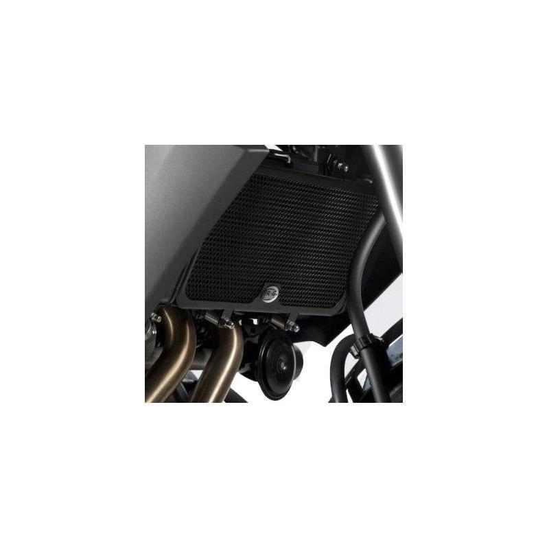 Protection de radiateur noire R&G Racing Kawasaki ER-6 12-16