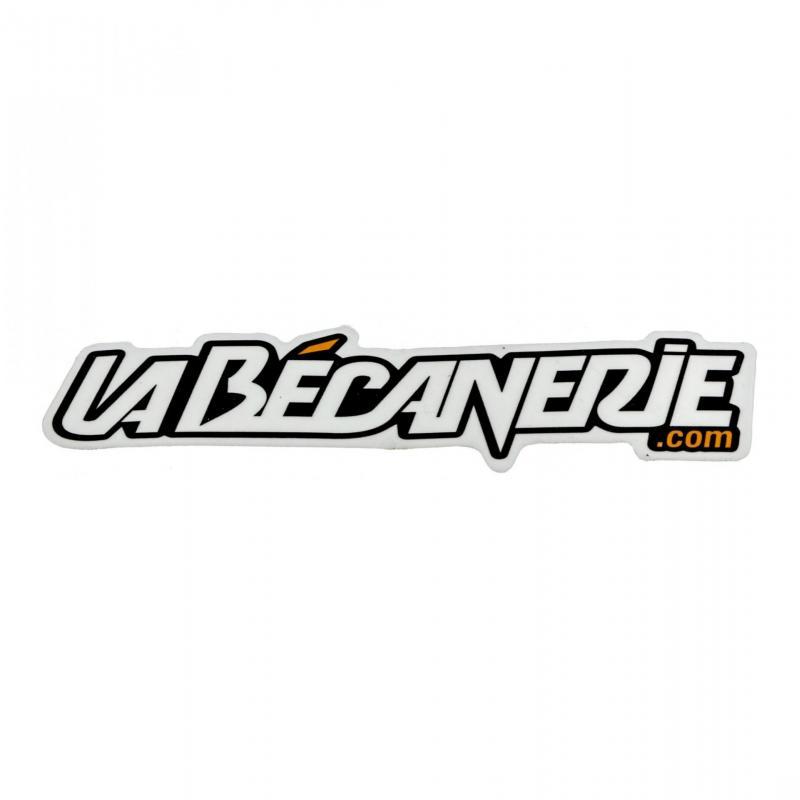 Autocollant La Bécanerie 12.5 cm noir / orange / transparent - 2