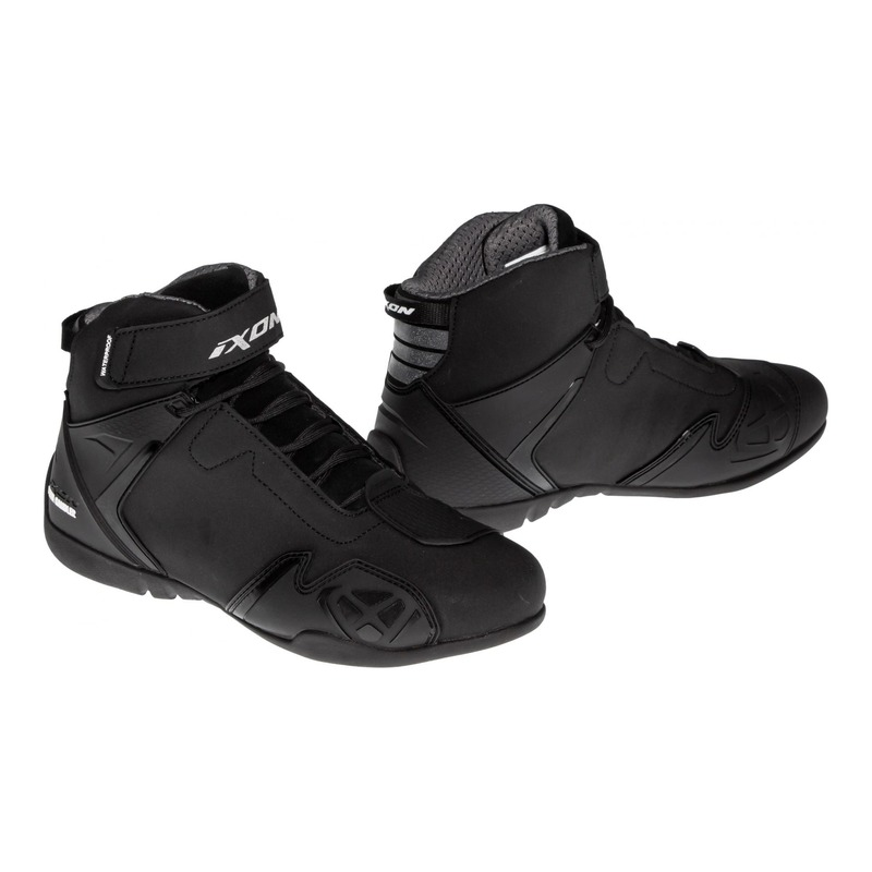 Basket moto femme Ixon Gambler WP noir