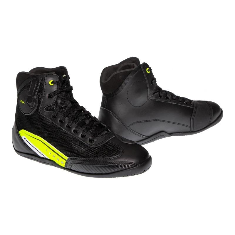 Baskets Alpinestars AST-1 noir/jaune fluo