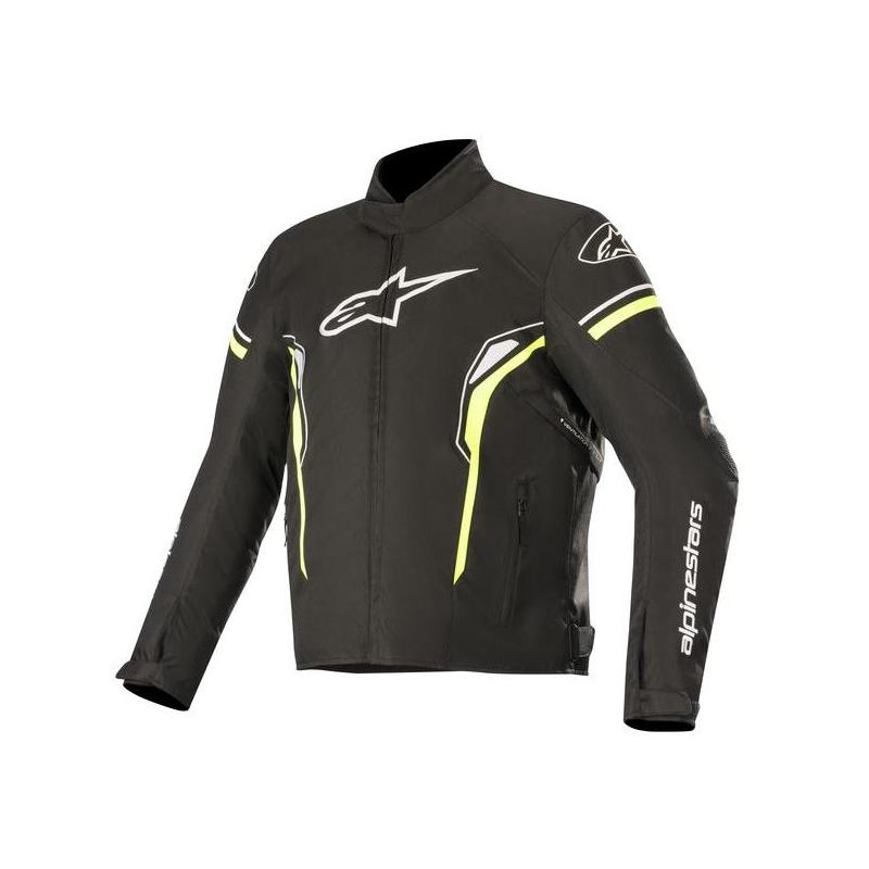 Blouson textile Alpinestars T-SP-1 Waterproof noir/jaune fluo