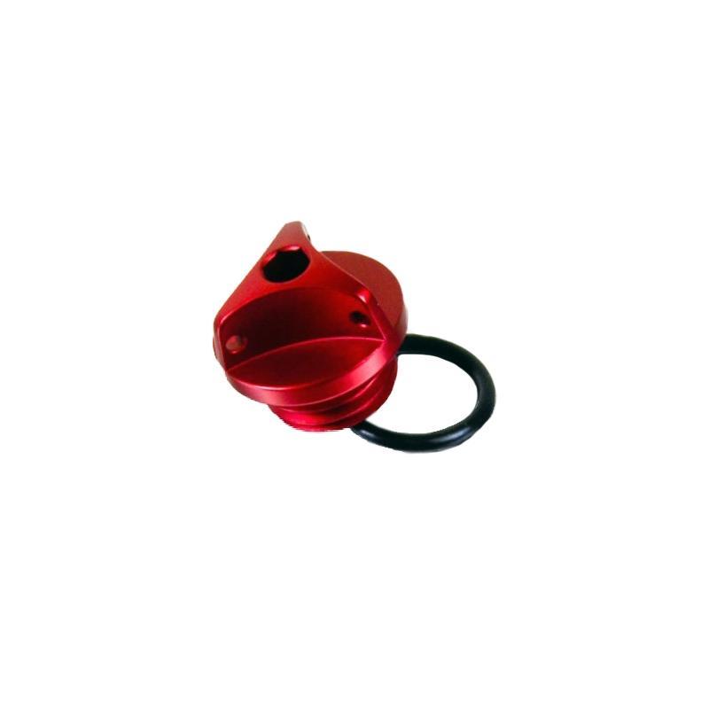Bouchon de remplissage d'huile moteur Pro-Bolt rouge BMW R 1200 GS Ø M30x1,5 mm