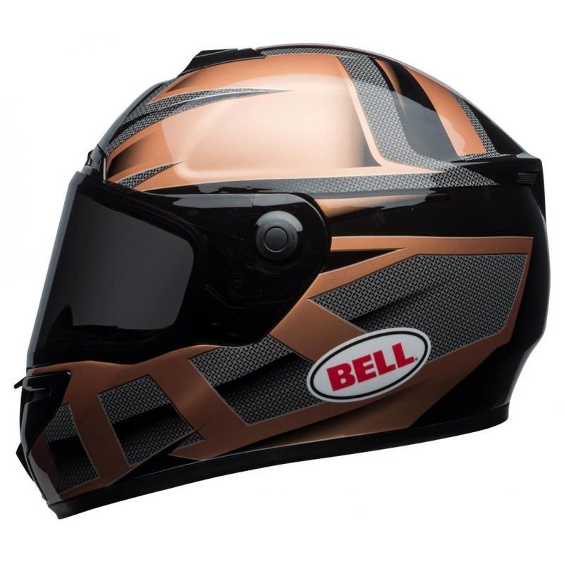 Casque intégral Bell SRT Predator copper/noir - 2