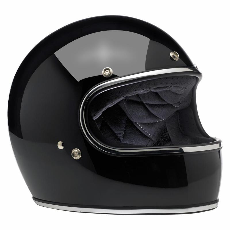Casque intégral Biltwell Gringo noir - 2