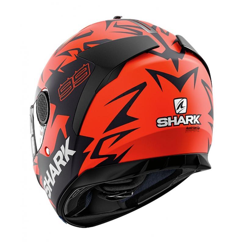 Casque intégral Shark Spartan 1.2 Réplica Lorenzo Austrian GP rouge/noir/rouge - 1